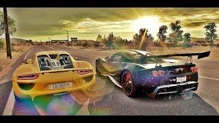 HENNESSEY VENOM GT VS PORSCHE 918 SPYDER - FORZA HORIZON 3 ONLINE - GOPRO - G27 ‹ ZoiooGamer ›