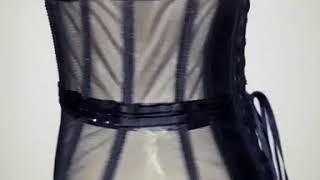 Shiny corset / Корсет со стразами.  MIRONOVA CORSETS