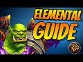 Elemental Shaman PvE Guide 8.0.1 | Talents & Rotation & Stats | World of Warcraft Battle for Azeroth