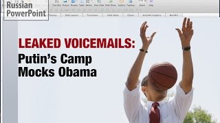 LEAKED VOICEMAILS: Putin Mocks Obama; Incites New Cold War?