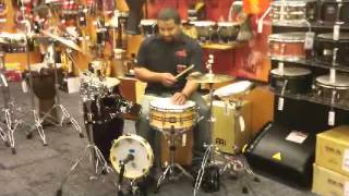 Latin Percussion Play Station @ Guitar Center Southfield MI..avi