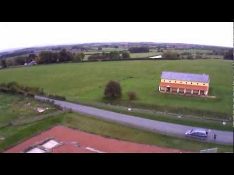 A Quick Flight around Wroxeter Roman Ruins Shropshire.
