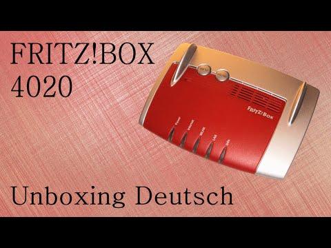 AVM Fritz!Box 4020 - Unboxing Deutsch [GER|720p]