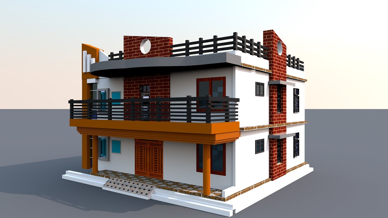 40 by 40 House Plan,40 x 40  House Plan with car parking, 40*40 Home design,40 x 40 घर का डिज़ाइन
