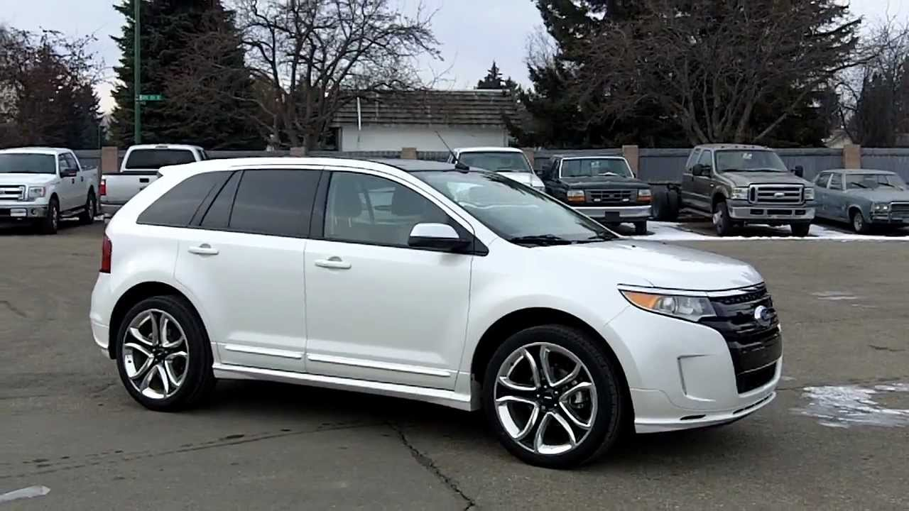 2012 Ford Edge Sport Youtube