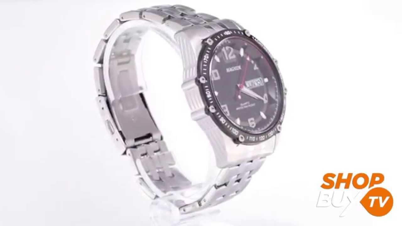 74bf8abaa25 Relógio Magnum MA32470D - ShopBuy - YouTube