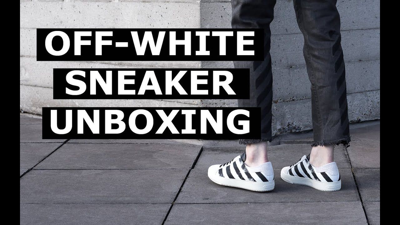 68083038a60 OFF-WHITE Sneaker Unboxing