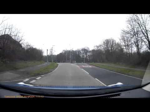 A drive through Warrington