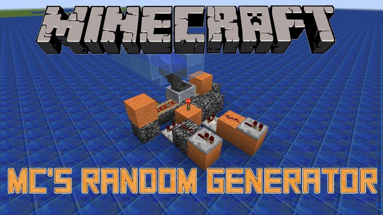 Random username generator for minecraft