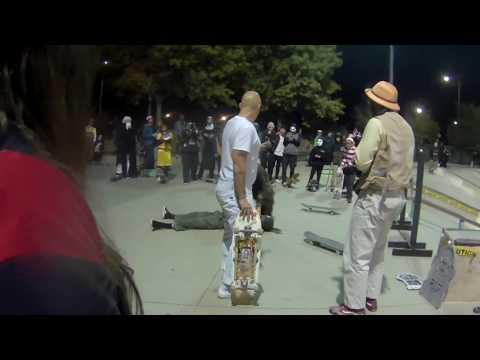 Halloween Skate Jam @ Los Altos Skate Park ABQ NM OMS Daily Skate 158