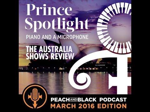 Prince - Piano & a Microphone Australian Tour Review