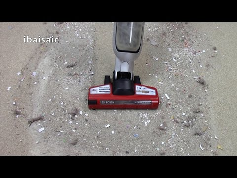 Bosch Athlet Pro Animal Cordless Vacuum Cleaner Demonstration