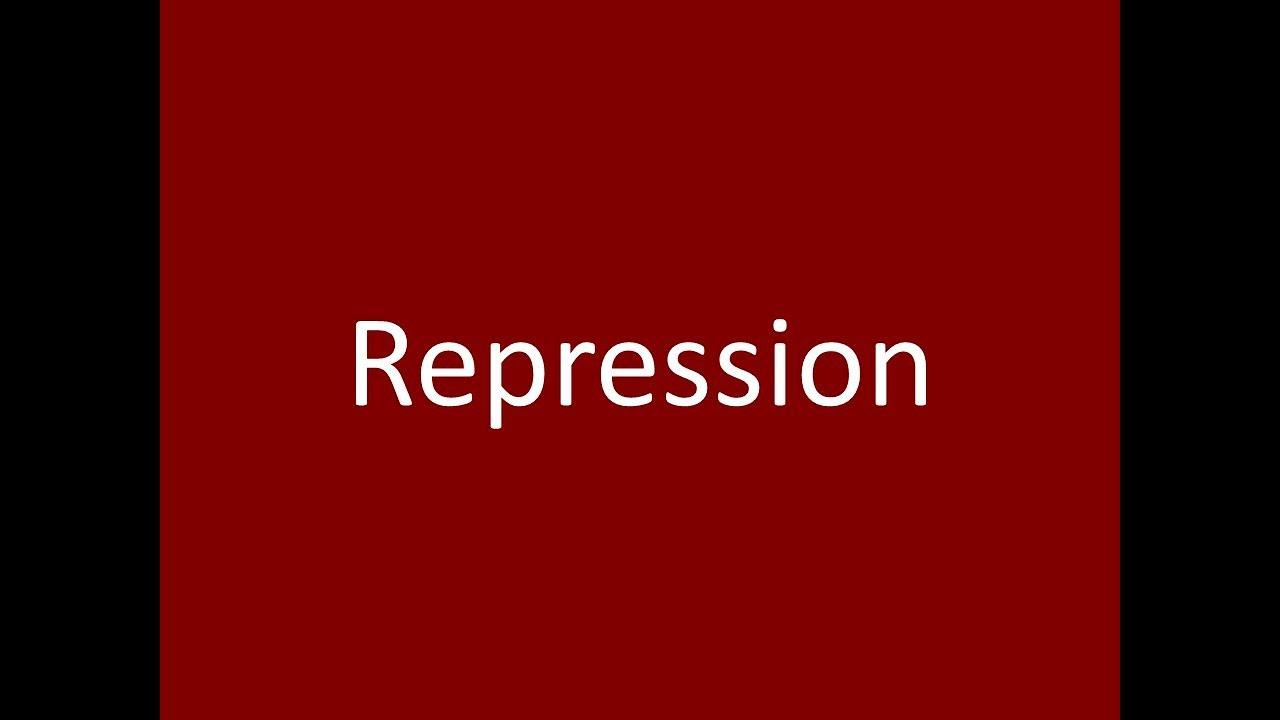 Repression Definition