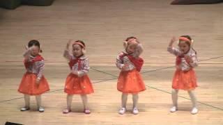 2015년 횡성어린이집 재롱잔치 목련반전체-검정고무신