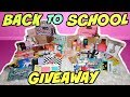 BIGGEST BACK TO SCHOOL GIVEAWAY 2 WINNERS CLOSED mp3
