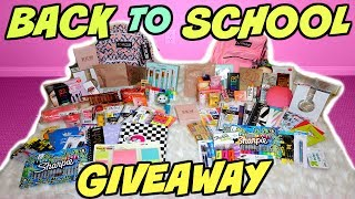 BIGGEST BACK TO SCHOOL GIVEAWAY!!!! 2 WINNERS! (CLOSED)