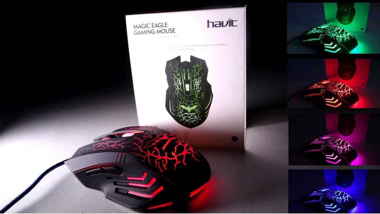 129de8e64b9 HAVIT HV-MS672 Ergonomic Wired Mouse - BEST GAMING MOUSE UNDER $10 ...