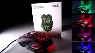 HAVIT HV-MS672 Ergonomic Wired Mouse - BEST GAMING MOUSE UNDER 10