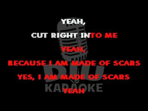 Stone Sour - Made Of Scars (Karaoke Video)