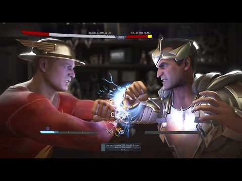 Injustice 2: Gone in a Flash - Black Adam vs BOSS Flash (Jay Garrick)