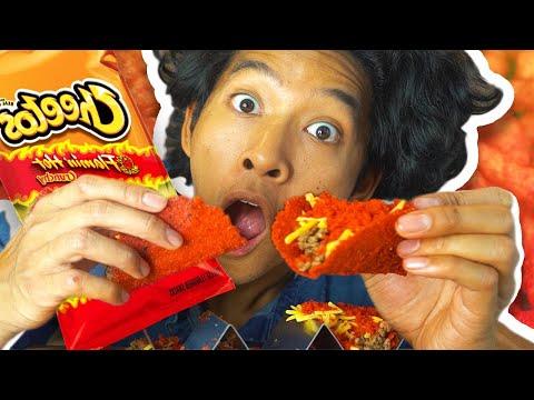 DIY Hot Cheetos Tacos!!!
