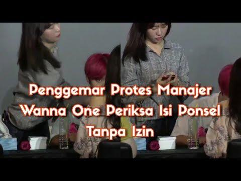 Penggemar Protes Manajer Wanna One Periksa Isi Ponsel Tanpa Izin #WannaOne