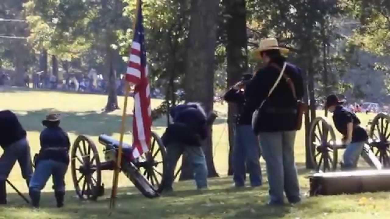 Columbus Belmont Civil War Reenactment 2015 Youtube