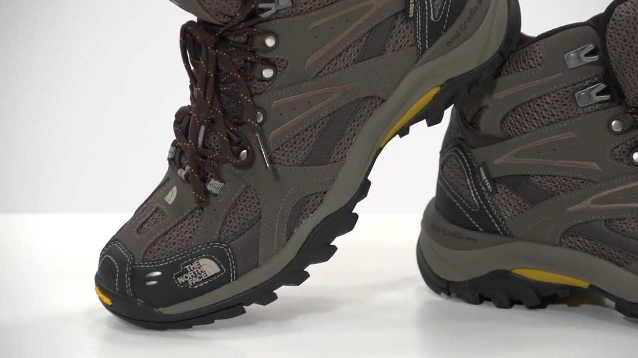 The North Face Men's Hedgehog Tall III GTX XCR Hiking Boots - YouTube
