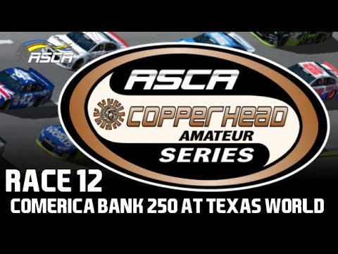 NR2003 ASCA Copperhead Amateur Series - S4 - Race 12/16 - Comerica Bank 250 at Texas World