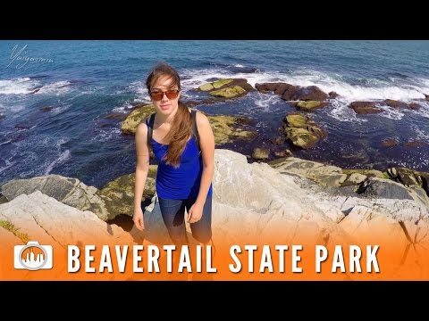 BEAVERTAIL STATE PARK | Jamestown, Rhode Island [GoPro Vlog]
