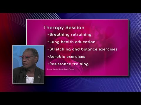 Pulmonary Rehab: Therapy Session