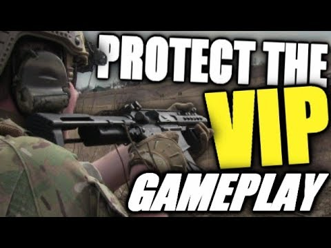 D14 Airsoft Gameplay - VIP Game