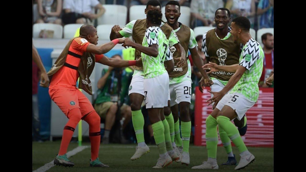 Nigeria Vs Libya 4-0 - YouTube