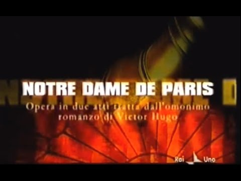 Sequenza Rai1 04.09.2003 - diretta NOTRE DAME DE PARIS