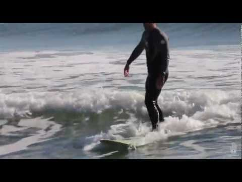 Surfing on Assateague Island
