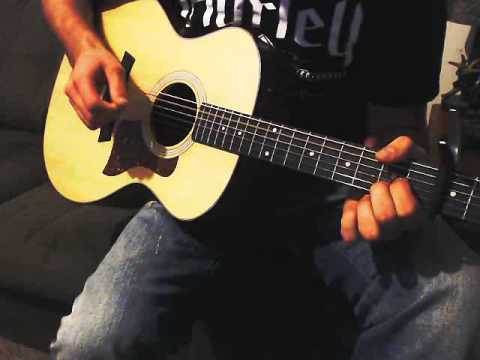 Give Into Me By Garrett Hedlund and Leighton Meester (Guitar Cover)