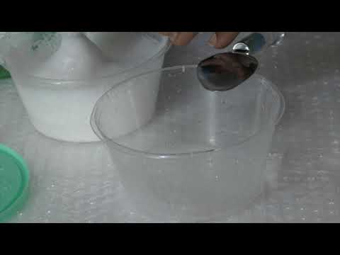 how to make slime without glue or activator 🌿that actually works🌿No Glue 🌿No Borax   Slime Videos