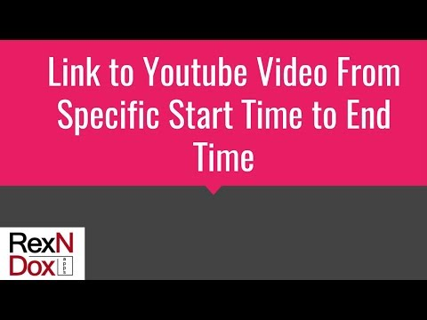 Embed Part of Youtube Video in Your Blog or Website from Specific Start Time to End Time