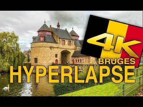 Hyperlapse Bruges HDR 4K
