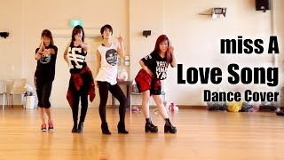 "miss A ""Love Song"" dance cover [kaotsun+KCDC] MIRRORED"