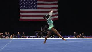 Simone Biles Floor Exercise 2018 U S Gymnastics Championships Senior Women Day 2
