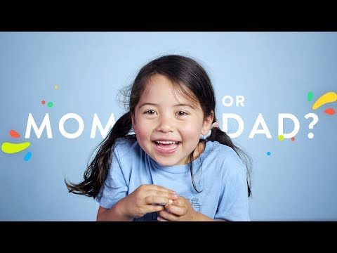 Who Do You Like Better, Mom or Dad? | 100 Kids | HiHo Kids