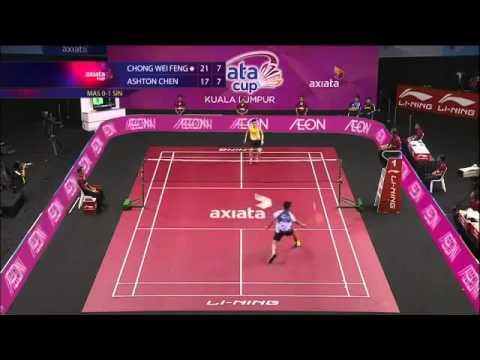 Shots in Badminton Badminton Trick Shot Over