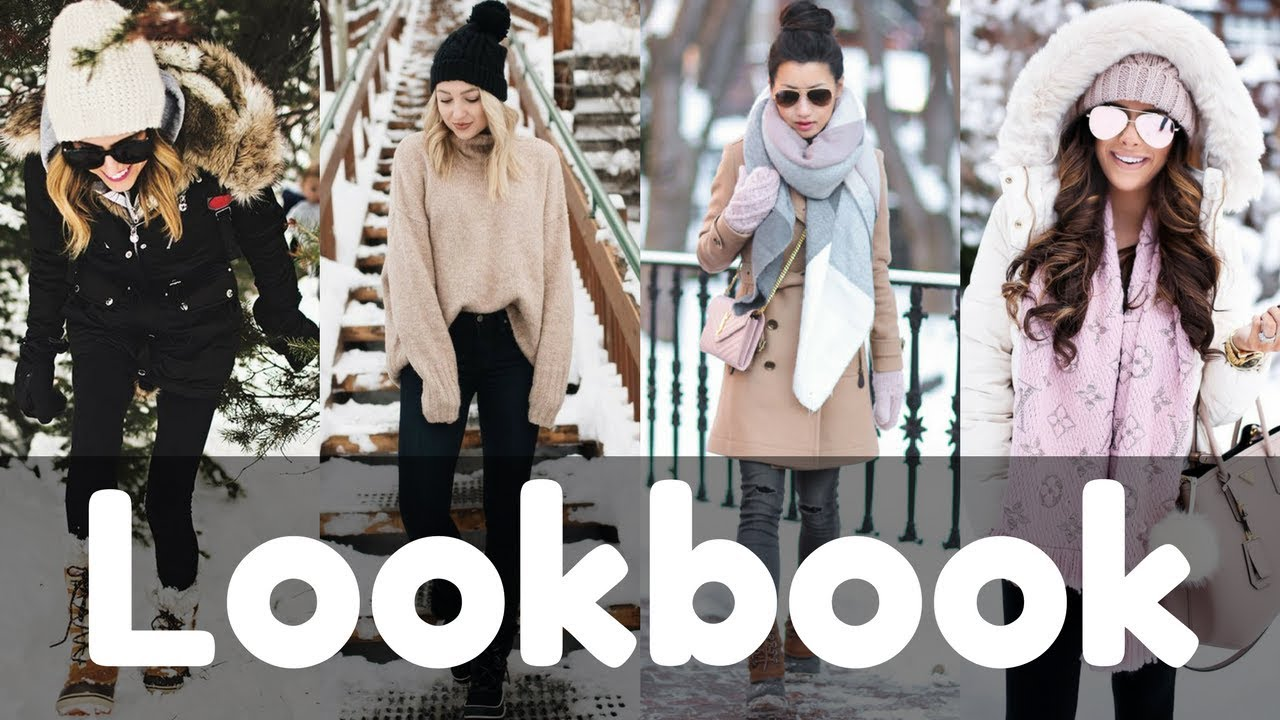 Outfits For The Snow   Snow Day Outfit Ideas   Cold Weather Winter Lookbook 2