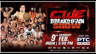 CWE Breakdown Show | Khali's Academy | Jalandhar