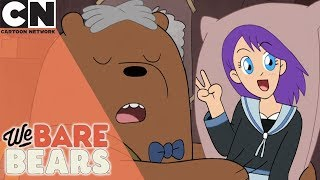 We Bare Bears | Grizz the Action Hero | Cartoon Network