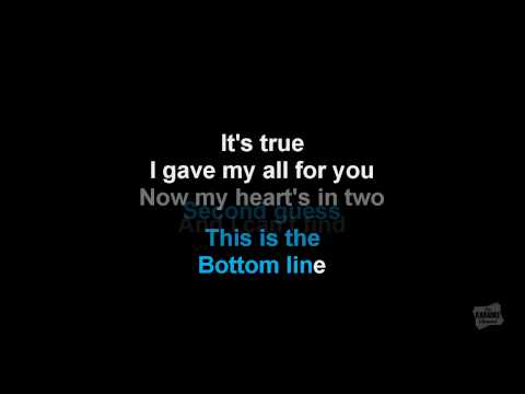 SOS in the style of Jonas Brothers karaoke video with lyrics (no lead vocal track)