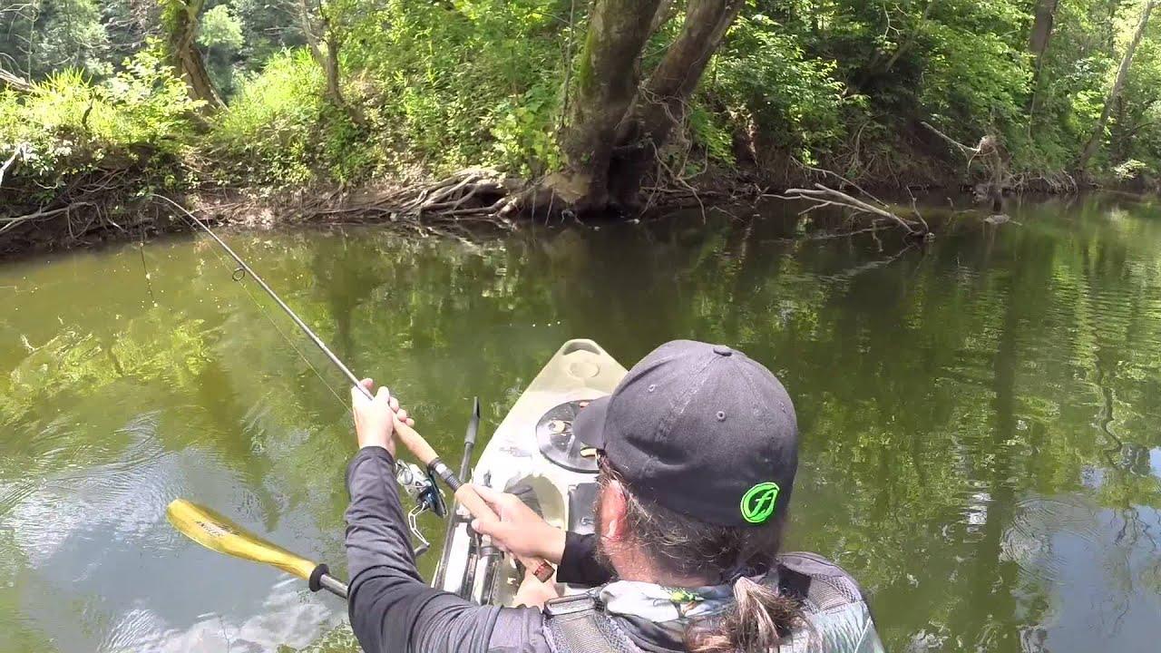 Eric schrock james river kayak fishing youtube for James river fishing