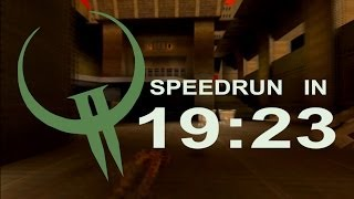 RTS Quake 2 PC in 19:23! DEAF PLAYER by eXcrem
