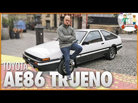 🚗 TOYOTA AE86 TRUENO 🇯🇵 LA 205 GTI JAPONAISE ?
